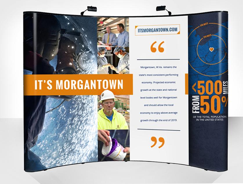 ItsMorgantown-TradeshowDisplay