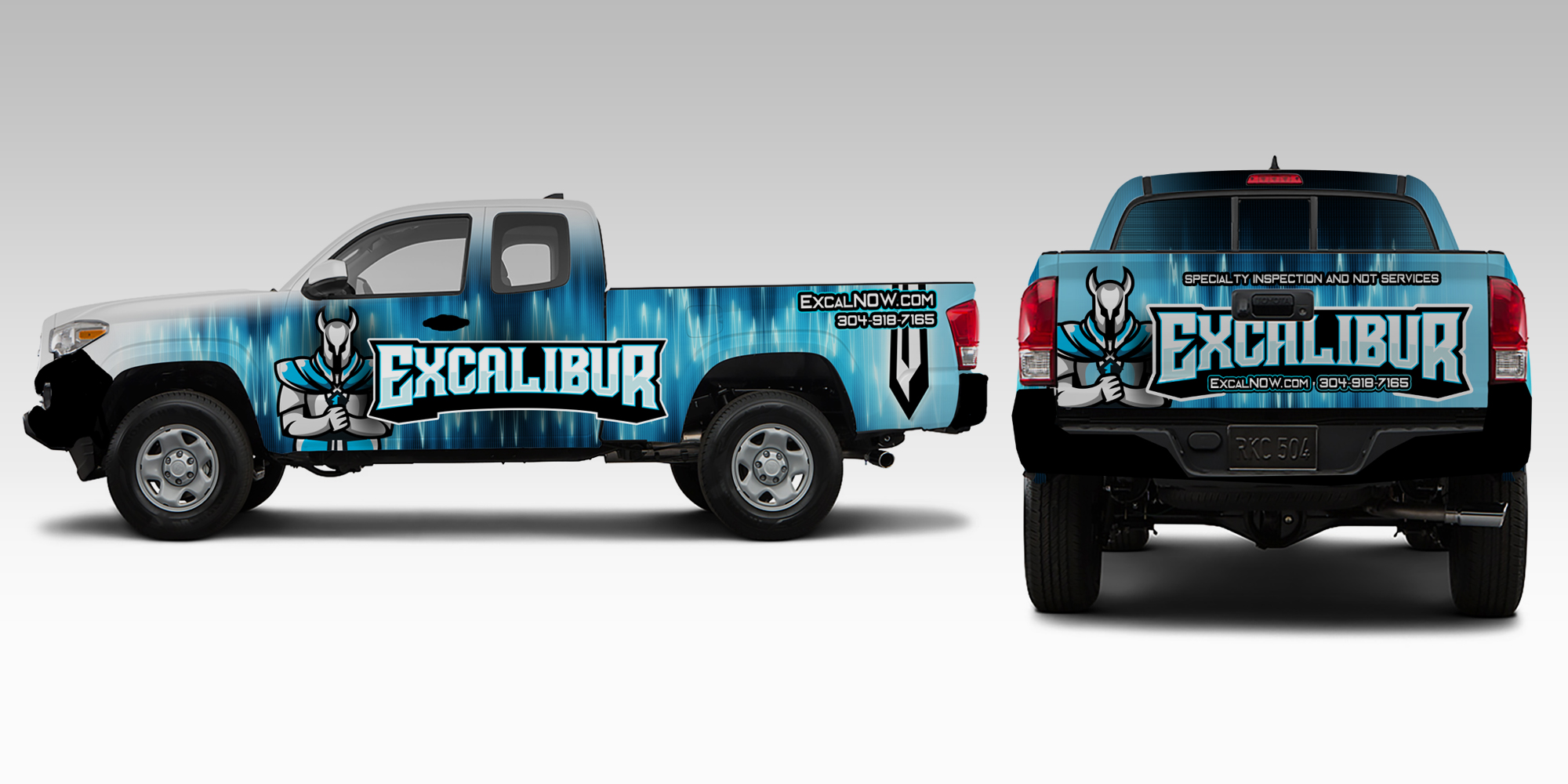 January's Custom Truck Wrap Spotlight - The Stick Co