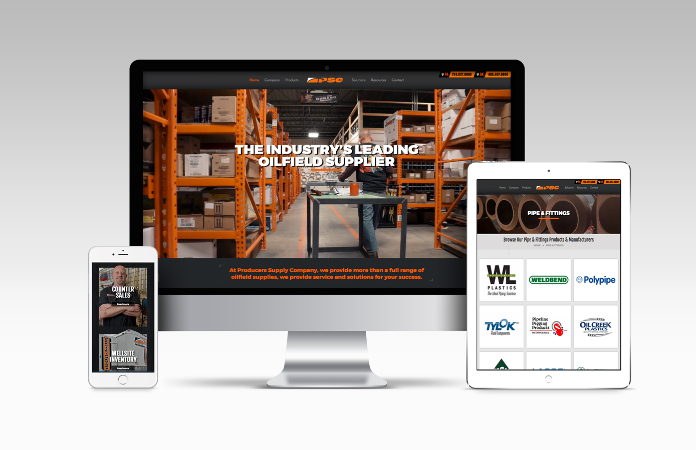 Producers Supply Co  Website Redesign and Brand Video - The